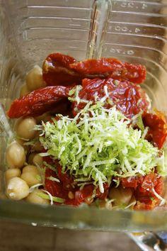 Lime Zest & Sun-dried Tomato Hummus