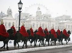 Horseguards in London