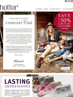 Happy New Year From The Comfort Club! December Edition - Hotter Shoes