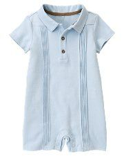 baby boy one-piece: maybe a christening outfit?