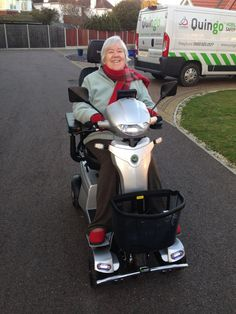 Mrs Campbell chose the Vitess 2 mobility scooter which Quingo is perfect for you? Get a home test drive here