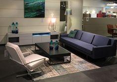 Gelderland 7850 Sofa (Remy Meijers), Gelderland 400 Retro Chair (Jan des Bouvrie) & Gelderland 7852 T Coffee Table (Remy Meijers). Lights Flos KTribe serie (Philippe Starck)