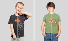 Kids' Apparel Essentials Mockup Templates Pack: Kids' T-Shirt Mockups & More - 17 essential kids' apparel PSDs, only $35: http://arsenal.gomedia.us/shop/mockup-templates/kids-t-shirt-mockups/