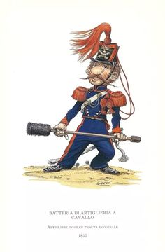 Two Sicilies, Italian Army, French Empire, 18th, 19th Century, Two By Two, War, France, Caricatures