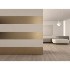EVOQUE GOLD&CREAM Wall tiles with metal effect ❤ liked on Polyvore featuring home, home decor, metal home decor, gold home decor and gold home accessories