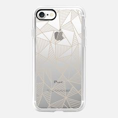 Abstract Lines Nude Transparent -  #casetifyiphone7 #iphone7 #geometric #abstract #phonecase