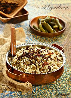 "مجدره "" Lentil with rice""  https://www.facebook.com/722093414571800/photos/a.722958307818644.1073741841.722093414571800/766571250124016/?type=1&theater"