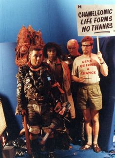"""""""Chameleonic Life Forms, No Thanks"""" - Rimmer, RED DWARF. This Must Be The Place"""