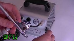 How to Airbrush for the beginner. Airbrush and compressor setup.