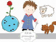 Kit de personagens - O Pequeno Príncipe Moreno » Personagens » Estúdio Tuty