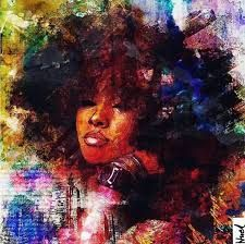 Ideas Drawing Nature Inspiration Hair Art For 2019 Black Love Art, Black Girl Art, Art Girl, Black Girls, Black Women, African American Art, African Art, African Beauty, Natural Hair Art