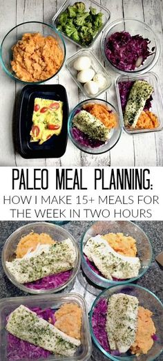 Paleo Meal Planning: How I Make 15+ Meals For the Week In Two Hours