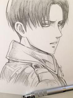 """roredwarrior3: """"Levi little sketch """""""