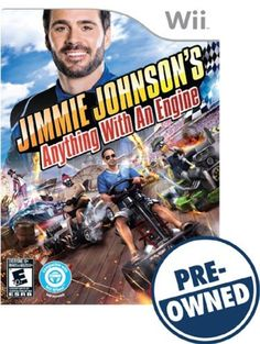 Jimmie Johnson's Anything with an Engine - PRE-Owned - Nintendo Wii