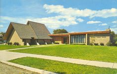 Faith Lutheran Church & Student Center :: Bowden Postcard Collection Online