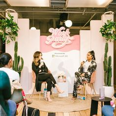 Connect with your tribe at female leadership events, female entrepreneur meetups, women in business gatherings, womens empowerment Tv Set Design, Stage Design, Backdrop Design, Booth Design, Plateau Tv, Chillout Zone, Corporate Event Design, Stage Decorations, Event Decor
