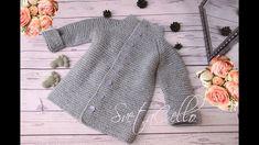 🚼 Baby PEACOAT || KNITTING TUTORIAL||Пальто спицами на ребенка 🚼 2-3 года