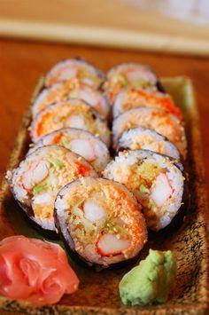 Sushi Roll. Mmm...I need some Wabi Sabi in my life.