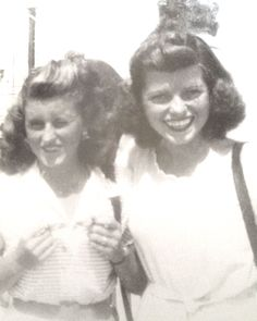 Kick Kennedy with younger sister, Eunice Circa 1946 Kathleen Kennedy, Jackie Kennedy, Kathleen Cavendish, Eunice Kennedy Shriver, Jack Johns, Friends Come And Go, Rose Kennedy, John Junior