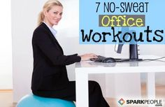 7 No-Sweat Workouts for Your Lunch Break Slideshow
