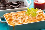 This buffalo Chicken Dip is Always the First Thing Gone at a Party