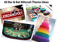 60 Party Themes, Bat & Bar Mitzvah Ideas!
