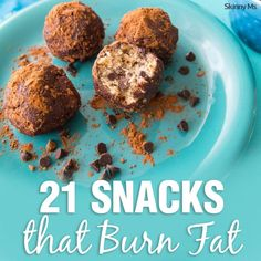 21 Snacks that Burn Fat