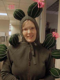 DIY Cactus Halloween Costume Idea