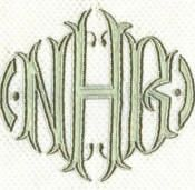 Luxury Monograms for Luxury Bed, Bath and Table Linens ~ bellalino.com