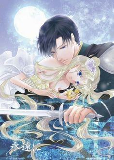 Princess Serena & Prince Darien Sailor Moon Artwork