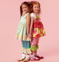 Children's/Girls' Top, Dress and Pants