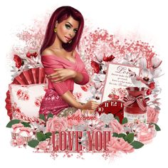 Adrienne´s Designs: Valentine Card/I Truly Do