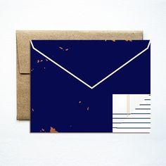 Envelope navy set
