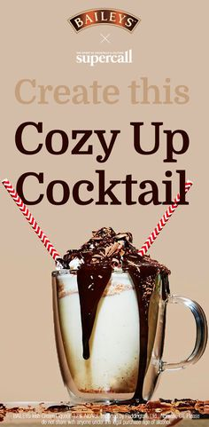 1. In a small saucepan over medium heat, whisk together yolk, sugar, nutmeg and milk until well combined. Bring to a boil, stirring often, about 3-4 minutes. Turn off heat and allow to cool slightly, about 2-3 minutes. 2. Add rum and Baileys Original Irish Cream Liqueur. 3. Divide the warm cocktail between two glasses, and garnish each glass with whipped cream, a drizzle of chocolate sauce, and chocolate shavings. Enjoy while warm. #Ad
