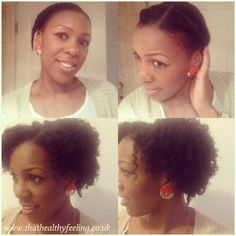 Flat twist out on natural hair #thathealthyfeeling