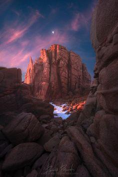 ~~Pinnacle | the moon shines above the Pinnacles, Cape Woolamai, Melbourne, Victoria, Australia | by RJ Pollard~~