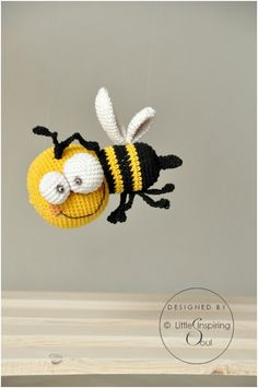 BZZZZ THE BEE - FREE PATTERN