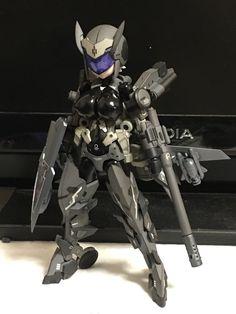 Cool Robots, Cool Toys, Armor Concept, Concept Art, Anime Figures, Action Figures, Frame Arms Girl, Sci Fi Models, Robot Girl