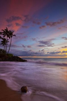 Painted Sky, Maui, Hawaii - seepicz - See Epic Pictures Beautiful Sky, Beautiful Beaches, Beautiful World, Beautiful Scenery, Beautiful Landscapes, Dream Vacations, Vacation Spots, Places To See, Places To Travel