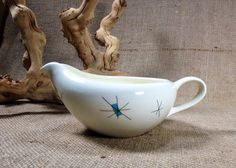 Vintage Atomic Star Burst Gravy Boat North Star by ChattCatVintage