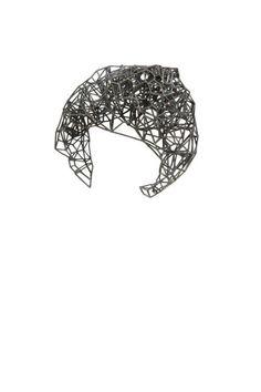 @Lotocoho 3D Voronoi Bracelet