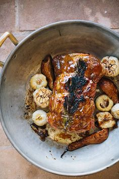 pauline boldt's fig-glazed roast pork | design sponge