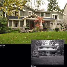 Great exterior makeover