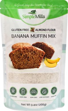 Simple Mills Banana Almond Flour Muffin Mix