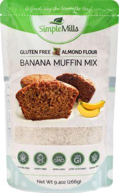Simple Mills Banana Almond Flour Muffin Mix