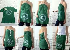 Reciclar camisetas