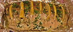 Форель в фольге с лимоном и зеленью в собственном соку. Вкусно, просто, быстро. Самое то на диете Гербалайф! http://svetlana-dolgih.ru/forel-v-folge/