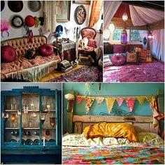 Bohemian Shabby Chic Home Decoration Ideas 22