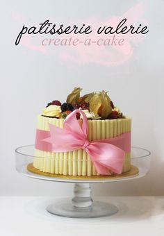 Create A Cake With Patisserie Valerie
