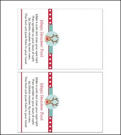 Magic reindeer food recipe and printable pinterest magic magic reindeer food recipe and printable pinterest magic reindeer food reindeer food and christmas eve forumfinder Gallery